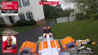 Video Nerf War:  Parents vs Kids MP3, 3GP, MP4, WEBM, AVI, FLV Desember 2018