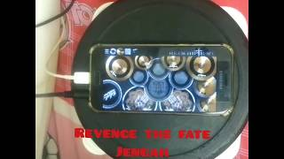 Revenge the fate - Jengah (real drum cover)