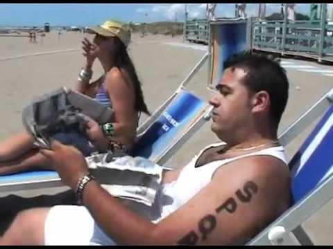 parodia ostia beach - mr. saxobeat alla romana