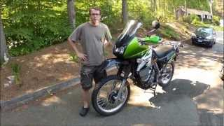 7. 2008 Kawasaki KLR650 Modifications for Adventure Touring