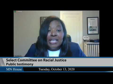 House Select Committee on Racial Justice (Remote Hearing)  10/13/20