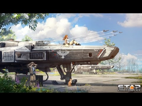 Star Conflict. Обзор-летсплей от Cr0n. Review.