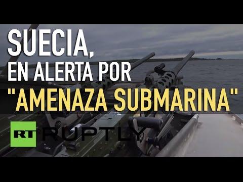 """Suecia, en alerta por una potencial """"amenaza submarina"""""""