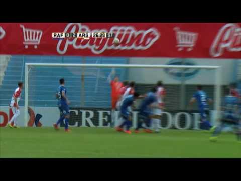 Se salvó el Bicho. Rafaela 0 – Argentinos 2. Fecha 16. Primera División 2016.