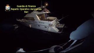 Guardia di Finanza: sequestro record di droga a bordo di uno yacht al largo del Gargano