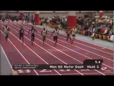 Tyreek Hill Big 12 Indoor Track and Field 60 Meter Finals video.