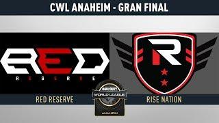 RISE NATION VS RED RESERVE - GRAN FINAL - PRIMER BO5 - CWL ANAHEIM DIA 3 - #ANAHEIMLVP