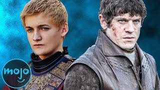 Joffrey Baratheon Vs Ramsay Bolton // Subscribe: http://goo.gl/Q2kKrD // Be sure to visit our Suggest Tool and Submit Ideas that you would like to see made into Top 10 videos! http://www.WatchMojo.com/SuggestWho is better, Joffrey Baratheon or Ramsay Bolton? When we pit Joffrey of House Baratheon against Ramsay of House Bolton, who is the more despicable villain? In this installment of versus, we're playing the game of thrones, and we'll be looking at categories such as house and allies, ambition, overall impact, and deaths. Join WatchMojo as we decide who is the more cruel and impactful villain.Have an idea you want to see made into a WatchMojo video? Check out our suggest page at http://watchmojo.com/suggest and submit your idea.Our Magazine!! Learn the inner workings of WatchMojo and meet the voices behind the videos, articles by our specialists from gaming, film, tv, anime and more. VIEW INSTANTLY: http://goo.gl/SivjcXWatchMojo's Social Media Pageshttp://www.Facebook.com/WatchMojohttp://www.Twitter.com/WatchMojo http://instagram.com/watchmojo Get WatchMojo merchandise at shop.watchmojo.comWatchMojo's ten thousand videos on Top 10 lists, Origins, Biographies, Tips, How To's, Reviews, Commentary and more on Pop Culture, Celebrity, Movies, Music, TV, Film, Video Games, Politics, News, Comics, Superheroes. Your trusted authority on ranking Pop Culture.