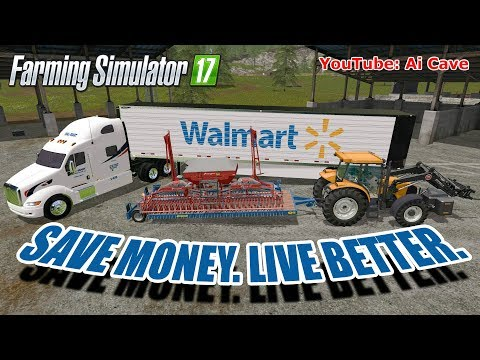 Walmart Peterbilt and Trailer v1.0.0.0
