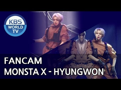 [FOCUSED]MONSTA X's HYUNGWON - Shoot Out[Music Bank / 2018.11.02]
