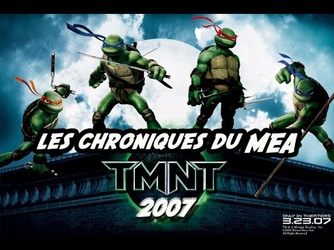 TMNT : Les Tortues Ninja Playstation 2
