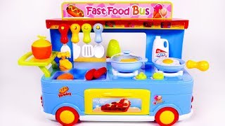Video Fast Food Truck for Kids Cooking Kitchen Toy Playset for Kids download in MP3, 3GP, MP4, WEBM, AVI, FLV January 2017