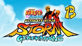 Naruto Shippuden Ultimate Ninja Storm Generations - Walkthrough Part 13 Pain&Uchiha Madara