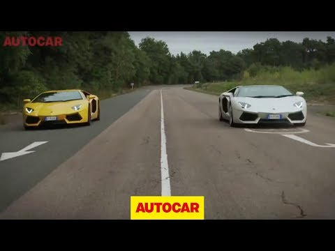 Lamborghini Aventador Roadster vs Aventador coupe – full length challenge video