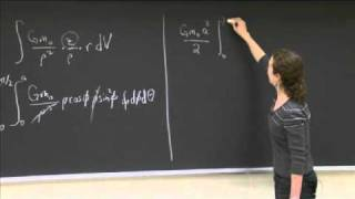 Gravity And A Half-sphere | MIT 18.02SC Multivariable Calculus, Fall 2010