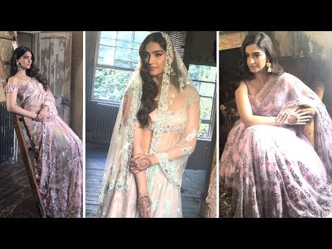 Sonam Kapoor FIRST Photoshoot After Wedding With K