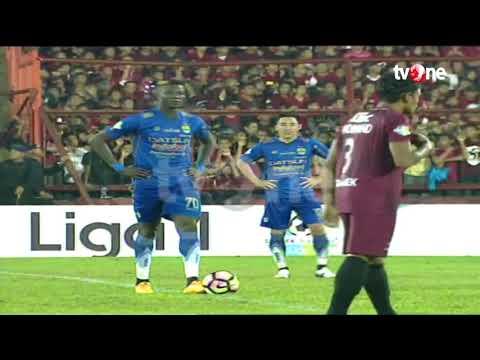 PSM Makassar vs Persib Bandung: 2-1 All Goals & Highlights - Liga 1