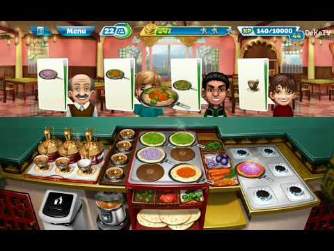 Cooking Fever - Indian Diner Restaurant Level 35 | Cooking GamePlay