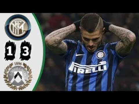 Inter Milan vs Udinese 1 3 All Goals and Highlights Serie-A 16-12-2017