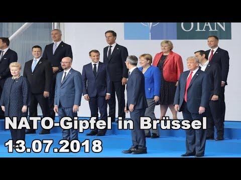 НАТО-Гипфел ин Брüссел 13.07.2018