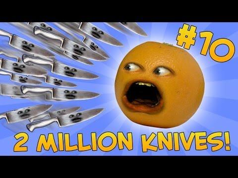Annoying Orange - ASK ORANGE #10: TWO MILLION KNIVES