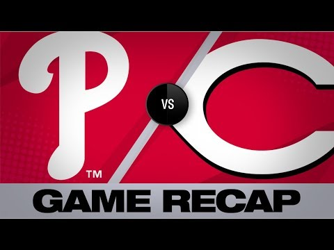 Video: Phils belt 4 homers in win over Reds | Phillies-Reds Game Highlights 9/2/19