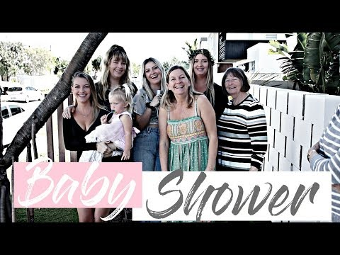 MY SISTERS BABY SHOWER *AUSSIE MUM VLOGGER*