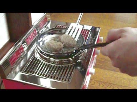 1970s-vintage Japanese toy stove #3 – ハンバーグ