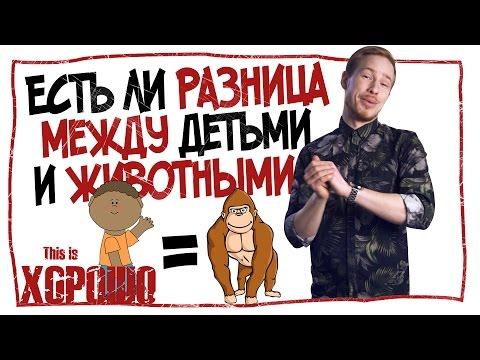 Есть ли разница между детьми и животными - DomaVideo.Ru