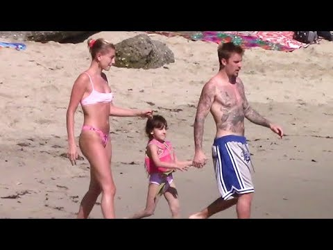 Justin Bieber And Hailey Baldwin Looking Ready To Start A Family During Romantic Beach Day