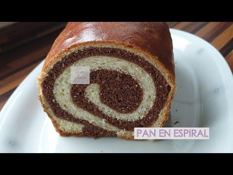 Fotos de amor - Pan de leche con espiral de chocolate