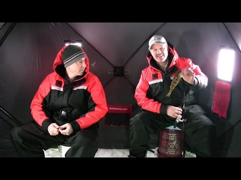Ice Fishing for Panfish – How to Catch Bluegills and Perch Through the Winter Ice