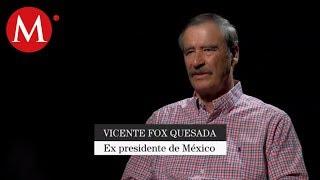AMLO como presidente no puede juzgar: Vicente Fox