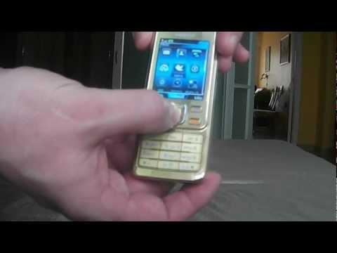Nokia Gold Sirocco 6300