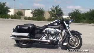 9. Used 2004 Harley Davidson Road King Police Motorcycles for sale