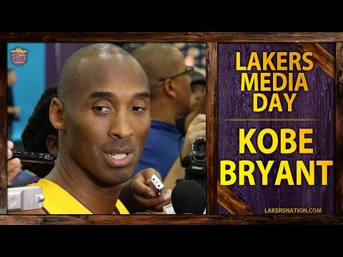 lakers - Kobe Bryant discusses the mixture of emotions, nervousness, excitement, rage going into this season. Talks proving to himself, that he can be himself. Join the Largest Lakers Fan Site in the...