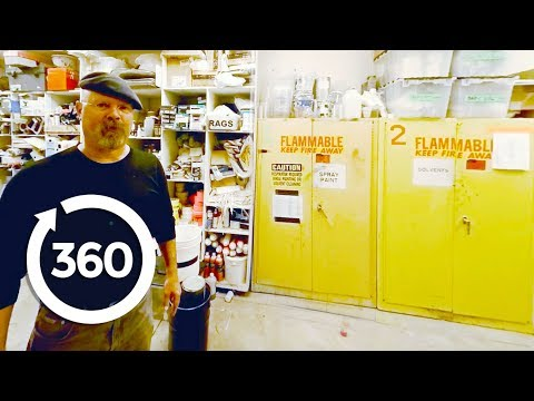 Take a VR Tour of the MythBusters M5 Warehouse (360 Video)