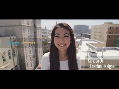 Karissa Oi – Becoming a Fashion Designer, Abercrombie & Fitch