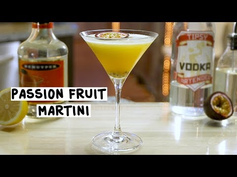 Passion Fruit Martini - Tipsy Bartender