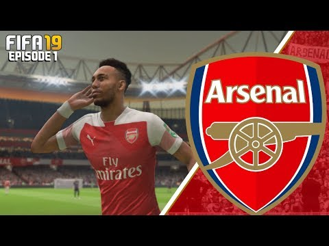 FIFA 19 ARSENAL CAREER MODE - #1 SEASON ONE!!