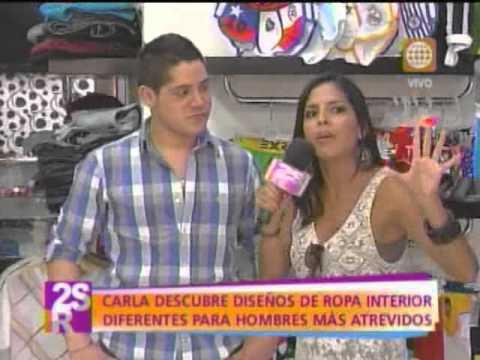 Carla descubre que ropa interior usan los peruanos
