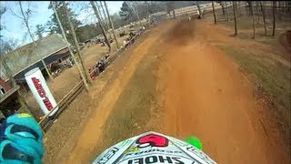 2. 2012 kx250f RACE! Durhamtown MX 12-8-2012
