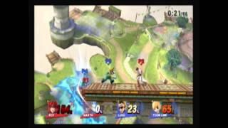 Smash 4 – Newton would be proud