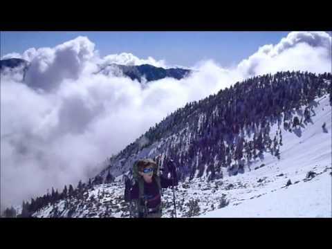 Tyler Armstrong - Mt. Baldy Bowl Snow Climbing