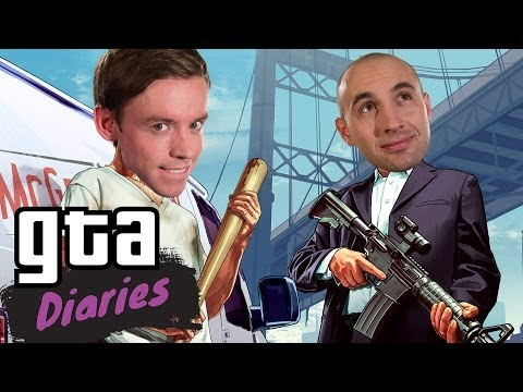 Diaries - Seb and Cam ditch the guns in favour of fists. Let's see if they can't start a club and cause a little mayhem in the process. Watch more GTA Diaries! http://...