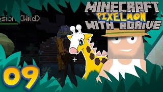 Minecraft PIXELMON with aDrive! Ep09 Showdown with Girafarig - PocketPixels White Let's Play! by aDrive
