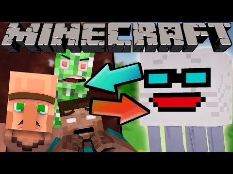 If The Nether and Normal World Switched Places - Minecraft