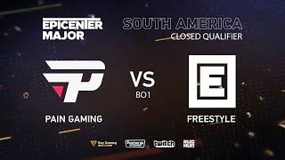 Pain Gaming vs FreeStyle, EPICENTER Major 2019 SA Closed Quals , bo1 [DotaBurger]
