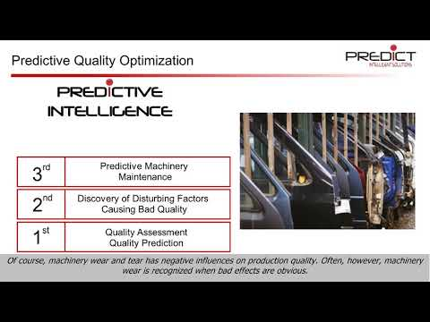 Predictive quality for production video