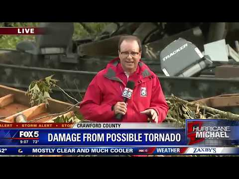 NWS to survey possible tornado